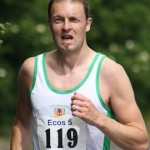 At the Ecos 5 Mile Race Glen Wilson
