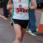 Russell Hughes at the 2009 Belfast City Marathon