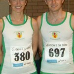 Christine Murray & Russell Hughes at Queens 5K Road Race