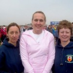 Andrena Berry, Paula Hilman & Irene Downey at the Virgin London Marathon