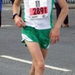 Glen Wilson at Belfast Marathon