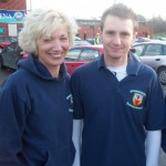 Christine Murray and Russell Hughes at the Seeley 10K Road Race