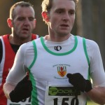Russell Hughes in action at the Seeley 10K Road Road