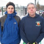Russell Hughes and Richard Mason at the 5th Waterworks Parkrun