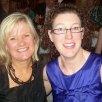 Pamela Turner and Suzanne Bradley at the Christmas bash in Carrickfergus