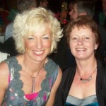 Secretary Christine Murray with fellow runner Irene Downey at the club's night out at the Clarion Hotel