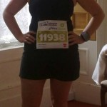 Ladies Captain Gillian Hanna pictured before Edinburgh Marathon