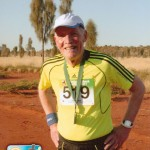Henry Pritchard at the Australian Outback Marathon