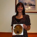 Lisa Montgomery was the joint winner of the Most Improved Runner of the Year award