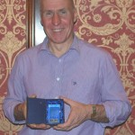 Ballyrobert's Chris Barrett was Male Athlete of the Year for County Antrim Harriers