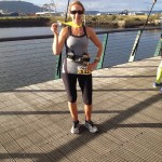Andrena Berry at the Titanic Ultra 50K
