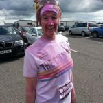 Diane at the Colour Run 5K