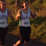 Lindsay Kennedy and Lisa Montgomery at Larne Inter-club Race
