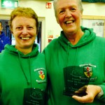 Irene Downey and Eileen Stewart Category Winners at Greyabbey 10K