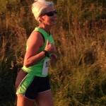 Liz Cahill at Larne Inter-club Race