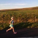 Louise Smart at Larne Inter-club Race