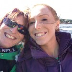 Lyn and Jennifer at Rathlin
