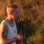 Philip Moore at Larne Inter-club Race