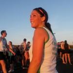 Rachel Lloyd at Larne Inter-club Race