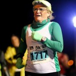 Marion Morrow at the Run in the Dark for Mark