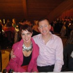Claire Oliphant and Nigel Snoddy