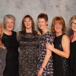 Marion Morrow, Eileen Stewart, Diane McCartney, Carol Annesley, Marian Hayes and Fran Wright