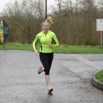 Natasha Henderson setting a Pb at Ecos Parkrun in November