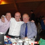 Nigel Snoddy, Randall Smyth and Raymond Hilman