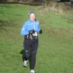 Helen Baird at Moira Cross Country