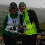 Katherine McAlister and Lisa Montgomery at the Race Over The Glens
