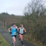 Christine Murray at Lough Fea 10 Miler