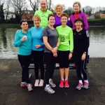 County Antrim Harriers share Jean Dolan's 100th park run at the Waterworks
