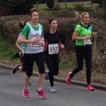Carol Annesley at Jimmy's 10K