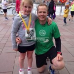 Georgia and Aaron Anderson at Titanic 10K and 1mlr