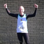 Graeme O'Hara before the AES Larne Half Marathon