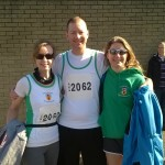 'Greg's Girls' in the Larne Half Marathon