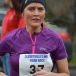 Julie-Ann McAllister at Albertville 5mlr