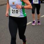 Natalie Davidson at Albertville 5 mile