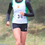 Natasha Henderson at NI Running 5 mile Trail at Killylane