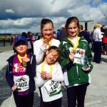 Niamh, Aideen and Erin Toal at Titanic 1 mlr