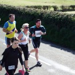 Paula McMaster at the Larne Half Marathon