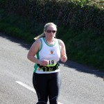 Shelley Boyle on the Larne Half Marathon Course