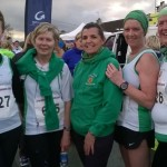 CAH Purple Ladies Carol Annesly, Fran Wright, Grace Startin, Marian Hayes and Eileen Stewart