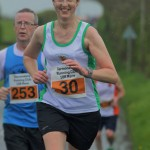 Carol Annesly in the Termoneeny 10K