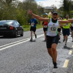 Christine Neeson at Strabane Lifford Half Marathon