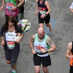 Glenn Smart caught on camera in the Virgin London Marathon
