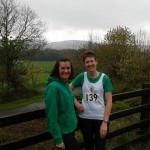 Lisa Montgomery and Carol Annesly at the Slieve Gullion 10K