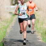 Natasha Henderson who got 2nd Female at Peatlands Jog in the Bog