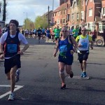 Ross McCowan doing the Belfast Marathon