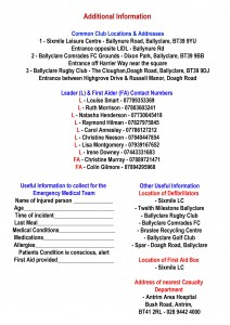 Emergency Action Plan - Page 2 - for Web Page